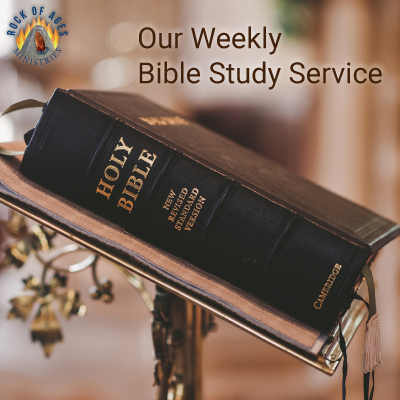 Weekly Bible Study Service at Rock of Ages Ministries, New York