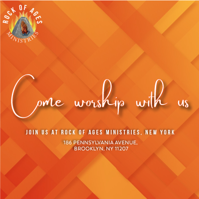 Come worship with us this Sunday at Rock of Ages Ministries